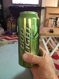 Half finished beer