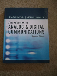 Mint Introduction to Analog and Digital Communications 2nd