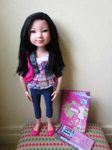 BFC Ink YUKO 18 inch Doll Articulate Jointed MGA Asian
