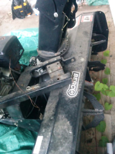 """Blower 48"""" to fit on an atv/ souffleuse pour 4 roues"""