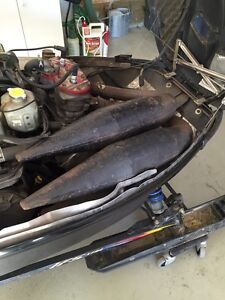 Psi twin pipes for 99 700 rmk