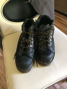 Doc Martin shoes/ boots, black leather, almost new