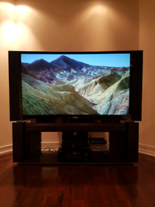 """62"""" Toshiba DLP HDTV with stand - Brand new lamp"""