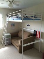 Ikea Tromso Twin loft bed