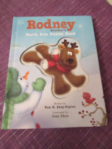 Rodney Reindeer's North Pole Puzzle Book  - Mint condition