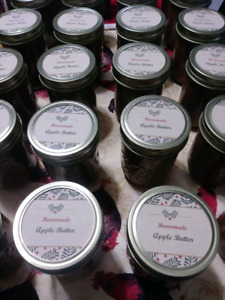 Homemade Jams and Apple Butter