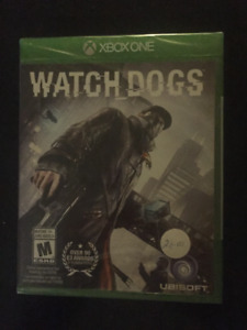 BRAND NEW -FACTORY SEALED  -Watch Dogs  Xbox One