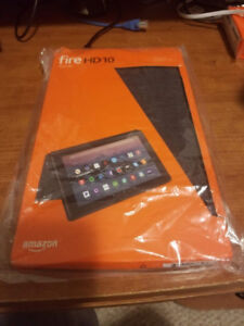 Amazon Fire HD 10 Tablet Case - Official - Charcoal - Like New