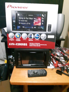 for sale a pioneer avh-x2800bs ans a  scosche power sub