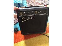 Guitar amp squire by fender