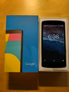 Google Nexus 5 UNLOCKED $80