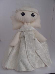 Angel Dolls Handmade from Vintage Wedding Gowns
