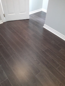 Gray laminate flooring 12.3 mm,low cost,free next day delivery