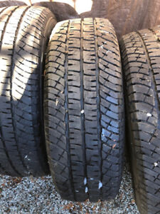 4 LIKE NEW MICHELIN LTX A/T2 265/70/R18 m+s TIRES Load Range E