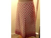 Oasis 100% thick cotton skirt size 12