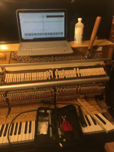 Piano Tuning and Cleaning