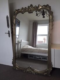 Large wall mirror (£200 ONO)
