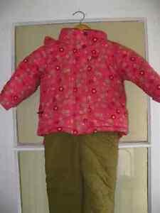Ensemble 2 pièces pour l'hiver 18 mois Manteau Gusti  pantalon