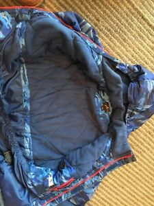 Size M (10-12) Boys Snowsuit and size 2 Cougar Boots Windsor Region Ontario image 3