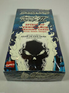 1992 GHOST RIDER SERIES II 2 TWO TRADING CARDS SEALED BOX
