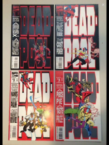 1993 DEADPOOL  THE CIRCLE CHASE & X-Force #2