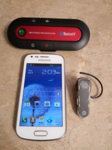 Combo Samsung Ace II  (batterie neuve+étui)