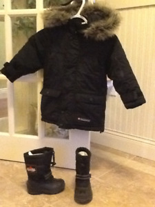 Boys Winter Coat and Boots for Sale!