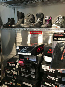 IN STOCK MOTORCYCLE BOOTS NOW 30% OFF AT HALIFAX MOTORSPORTS!!