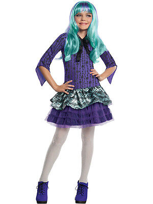 Child Monster High Twyla Outfit Fancy Dress Costume Halloween Book Week - Twyla Halloween Costume