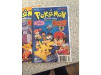 Original pokemon the movie comics