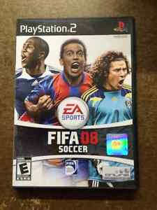 FIFA 08 SOCCER  FOR PLAY STATION 2