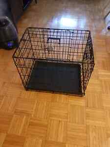 Crate for dog/puppy 18 H x 17 W  x 24 L