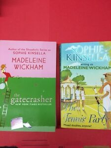 Madeline Wickham 2 Books New