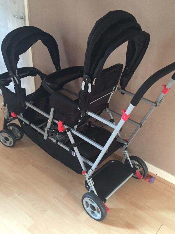 Joovy BigCaboose Triple Stroller for sale brand new | in ...