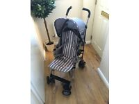 Mothercare buggy with rain cover £25