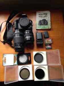 Canon Rebel TXI 400D camera, lenses and accessories