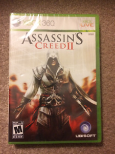 Xbox 360 Games, Brand new, factory sealed