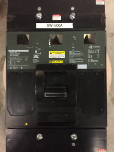 Schneider Electric Square D MHL36000MV 800AMPS Circuit