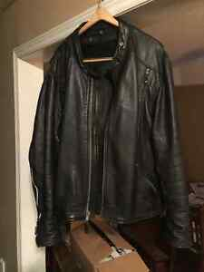 Used Leather Jacket-Motorcycle size 52 (3xl)