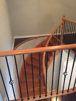 staircase staining