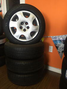 USED 185/65R15 MICHELIN DEFENDER WITH ORIG. TOYOTA RIMS FOR SALE