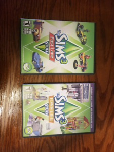 2 PC Sims 3 Expansion Packs