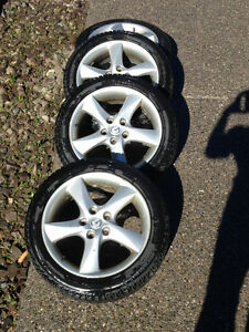 Michalen 205-50R17 Winter Tires with Rims
