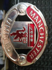 Vintage Manchester United belt buckle