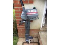 Yamaha Malta 3hp outboard