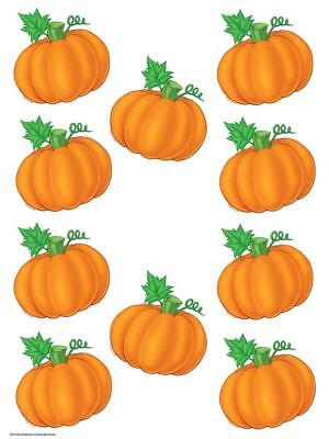 TCR 4146 Fall Pumpkins Thanksgiving Cut Outs Bulletin Board Classroom Decor