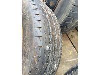 Citroen relay wheels and tyres