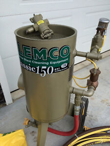 Clemco 3cuft Classic150 Blasting Unit with CAP-1Ambient Air Pump