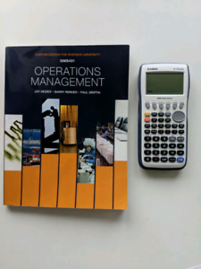 Operations Management TEXT GMS401