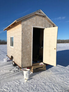 Ice fishing shack for sale